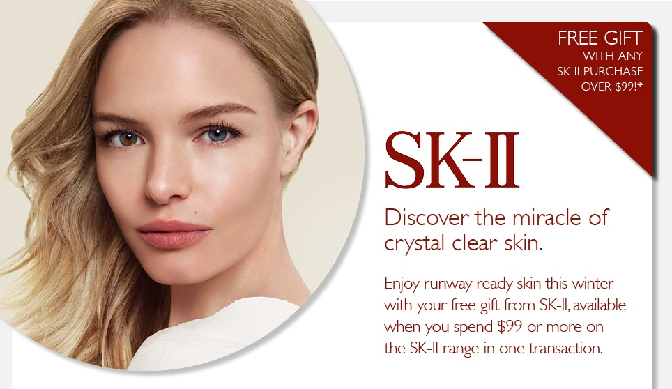 Kate Bosworth uses SK-II