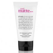 philosophy total matteness pore-minimizing & mattifying cleanser + mask