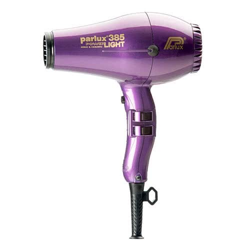 Parlux Power Light 385 Ionic & Ceramic Hairdryer - Violet
