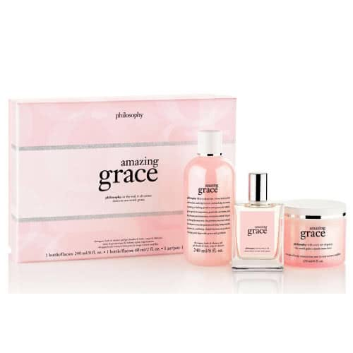 philosophy amazing grace layering set 2014 by philosophy