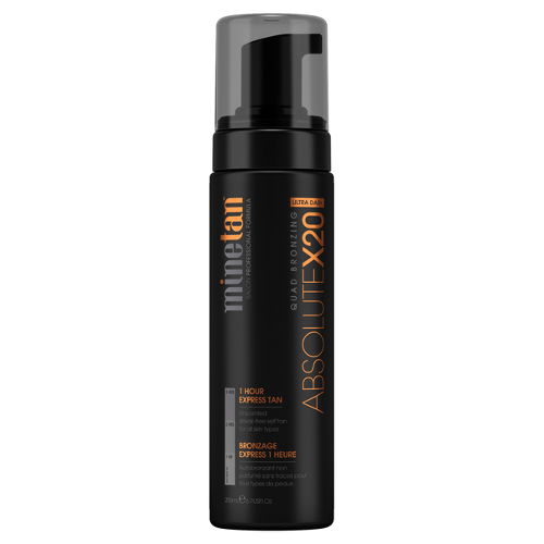 MineTan Absolute X20 Self Tan Foam by MineTan