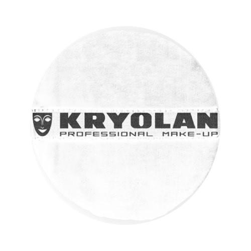 Kryolan Powder Puff 10cm ? White by Kryolan Professional Makeup