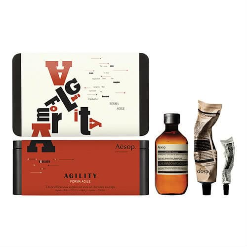 Aesop Agility Lip and Body Trio Gift Set
