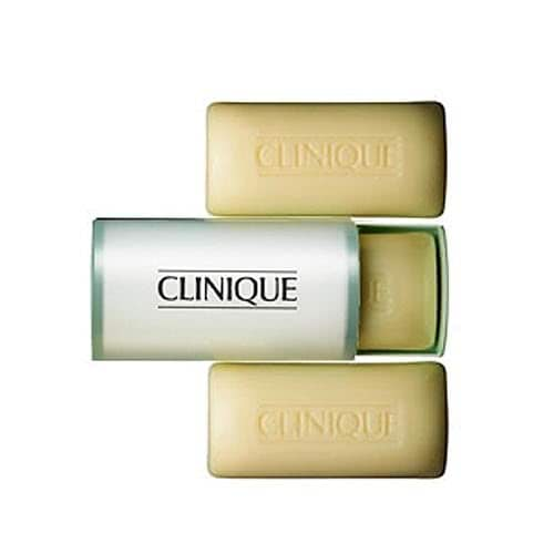 Clinique 3 Little Soaps with Travel Dish - Mild by Clinique color Mild