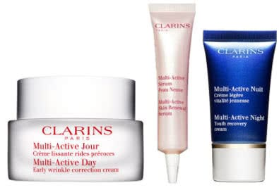 Clarins Multi-Active Day Cream - All Skin Types - With Your Gifts