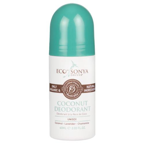 Eco Tan Organic Coconut Deodorant 60mL