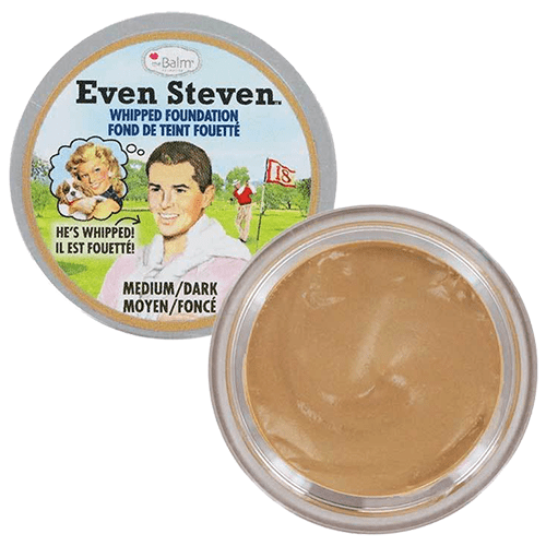 theBalm Even Steven Whipped Foundation - Medium Dark by undefined