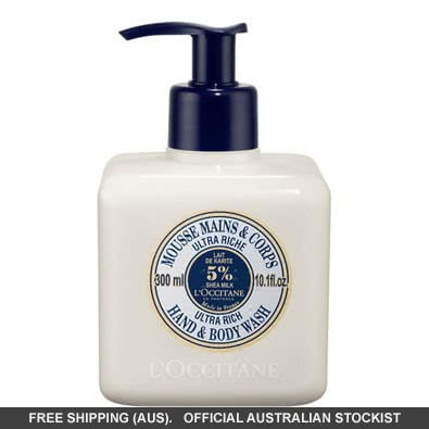 L'Occitane Ultra Rich Hand And Body Wash 300ml by loccitane