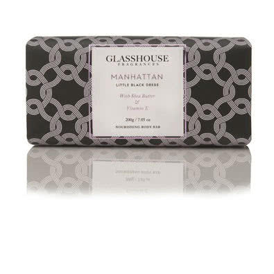 Glasshouse Manhattan Nourishing Body Bar - Little Black Dress by Glasshouse Fragrances