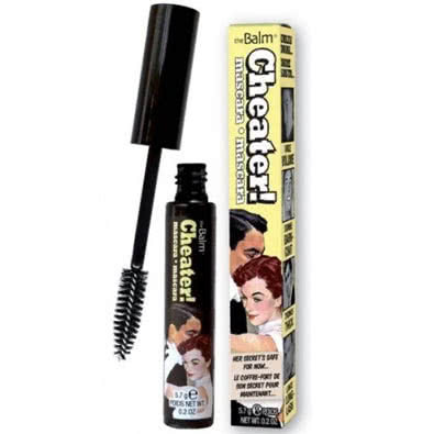 theBalm Cheater Mascara Black - black