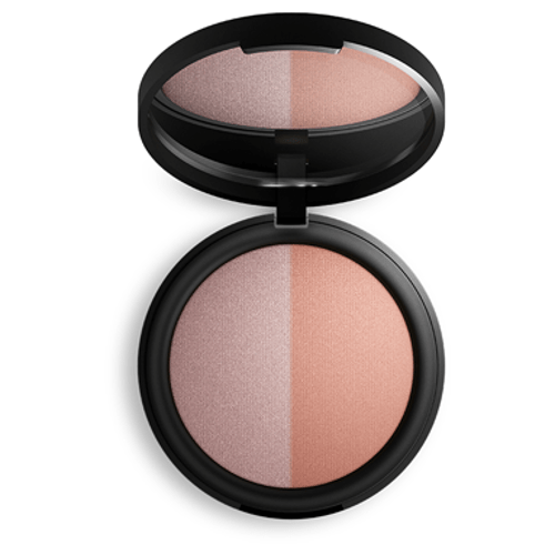 Inika Baked Blush Duo - Pink Tickle