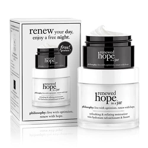 philosophy renewed hope in a jar 60ml + renewed hope in a jar night 15ml by philosophy