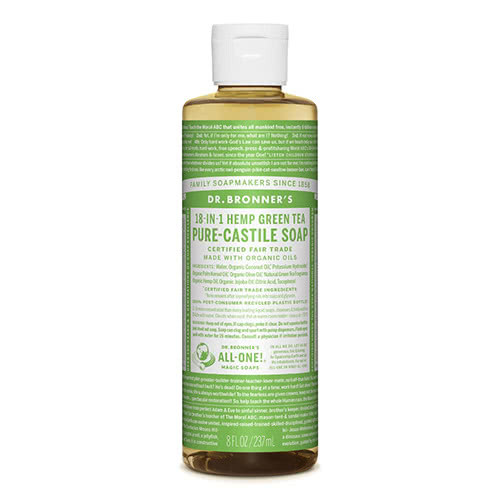 Dr. Bronner Castile Liquid Soap - Green Tea 237ml