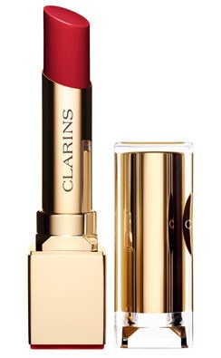 Clarins Rouge Eclat Satin Finish Age-Defying Lipstick-11 Passion Red