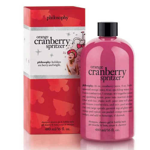 philosophy shampoo bath & shower gel - orange cranberry spritzer by philosophy