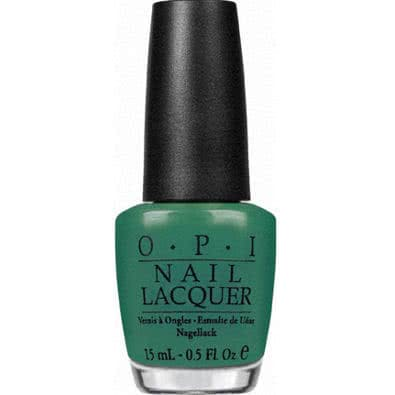 OPI Nail Lacquer - Hong Kong Collection, Jade Is The New Black by OPI