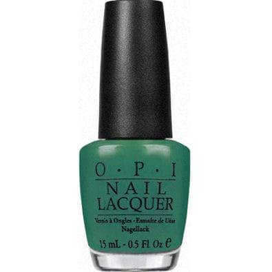 OPI Nail Lacquer - Hong Kong Collection, Jade Is The New Black by OPI color Jade Is The New Black