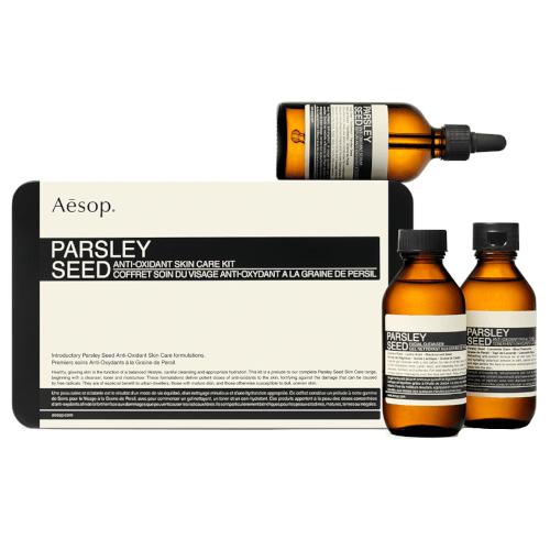 Aesop Parsley Seed Anti-Oxidant Skin Care Kit by Aesop