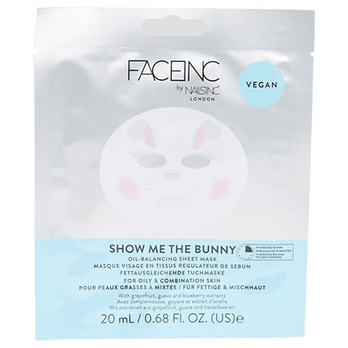 Face Inc Show Me The Bunny Sheet Mask - Balancing by nails inc.
