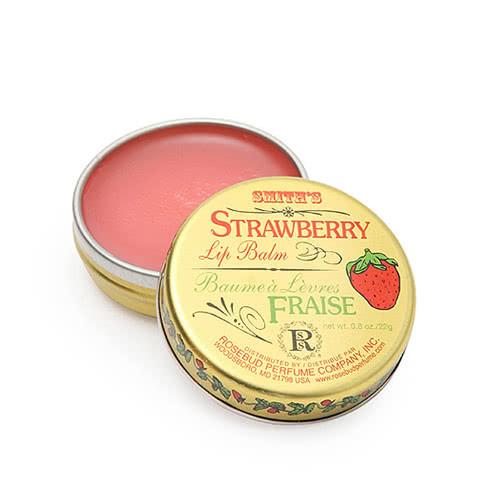 Smith's Rosebud Salve - Strawberry Lip Balm - Tin