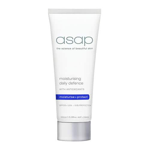 asap moisturising daily defence spf 50+ 100ml by asap