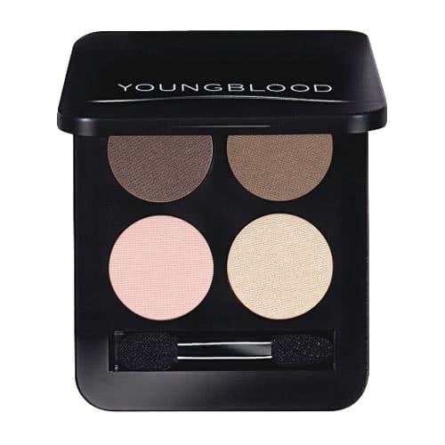 Youngblood Pressed Mineral Eye Shadow Quad by Youngblood Mineral Cosmetics