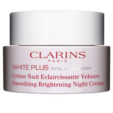 Clarins White Plus Total Luminescent: Smoothing Brightening Night Cream