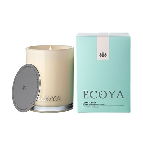 Ecoya Madison Jar Fragranced Candle - Lotus Flower