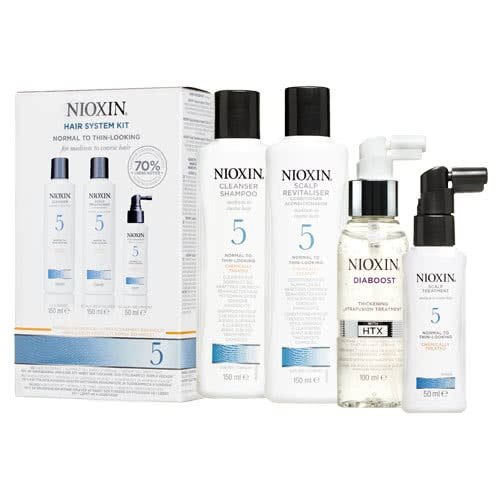 Nioxin System 5 Diaboost & Trial Pack by Nioxin