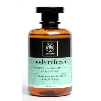 APIVITA Body Refresh Refreshing Bath and Shower Gel - Fig & Aloe