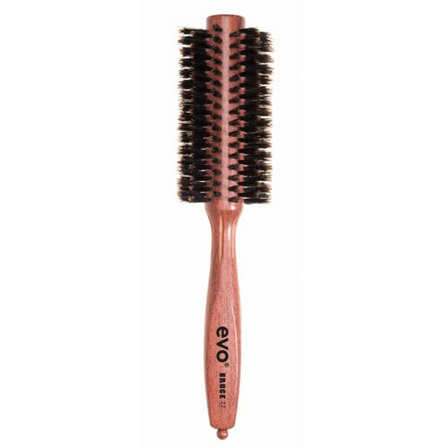 evo bruce 22 natural boar bristle radial brush