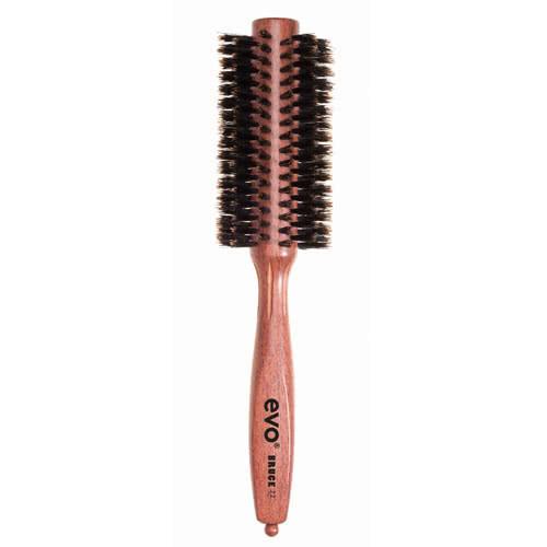 evo Bruce 22 Natural Boar Bristle Radial Brush