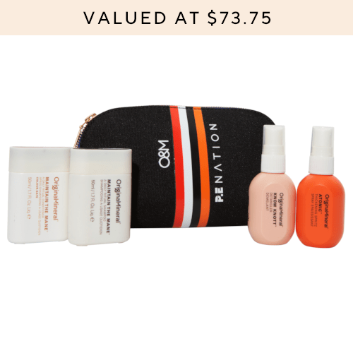 O&M x PE Nation Cosmetic Case pack by O&M Original & Mineral