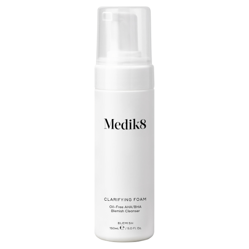 Medik8 Clarifying Foam Oil-Free AHA/BHA Blemish Cleanser 150ml by Medik8