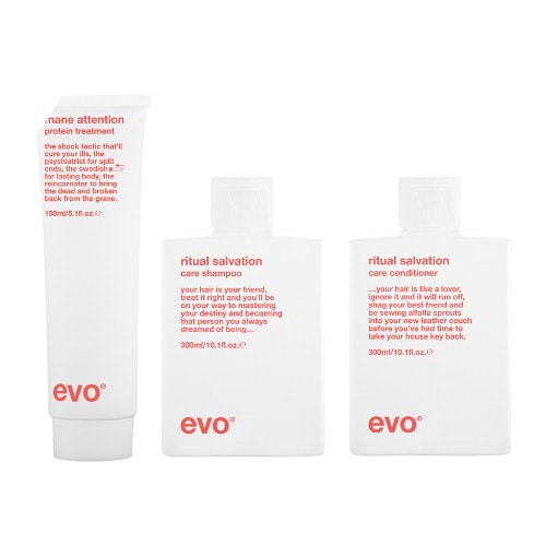evo love is in the hair care kit by evo