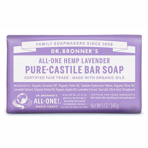 Dr. Bronner Castile Bar Soap - Lavender by Dr Bronner-s