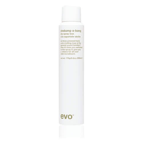 evo Shebangabang Dry Spray Wax 200ml by evo