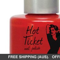 theBalm Hot Ticket Nail Polish Red From Cover To Cover - Classic Red