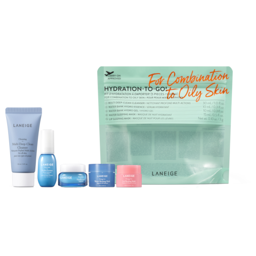 Laneige Hydrating Trial Kit for Combination to Oily Skin 5 Piece Set