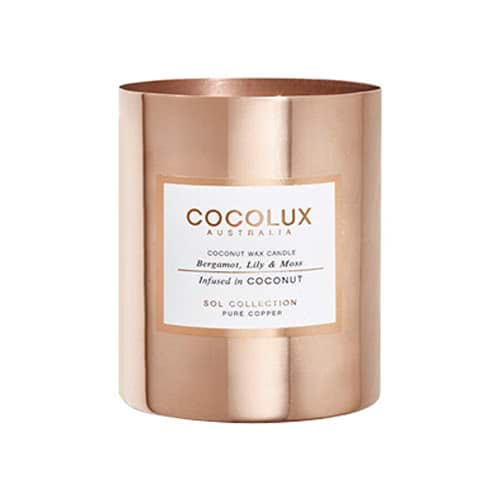 Cocolux Candle Bergamot, Lily & Moss 350g by Cocolux Australia