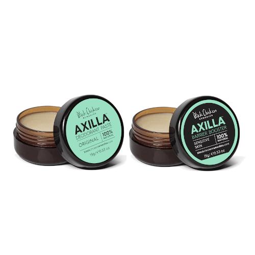Black Chicken Remedies Axilla Deodorant Paste - Twin Minis