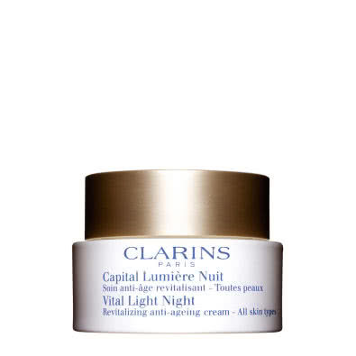 Clarins Vital Light Night Cream for All Skin Types