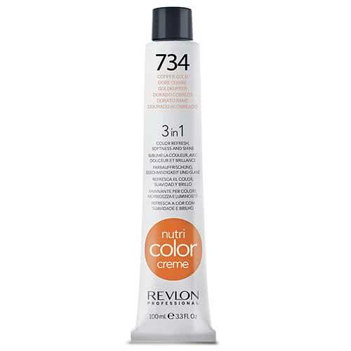 Revlon Professional Nutri Color Crème - 734 Copper Gold by Revlon Professional