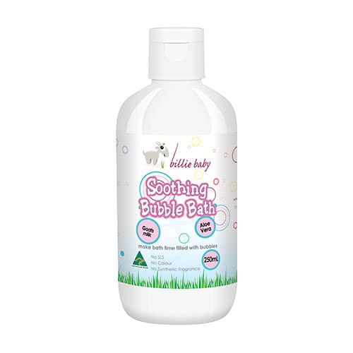 Billie Goat Baby Soothing Bubble Bath by Billie Goat Soap