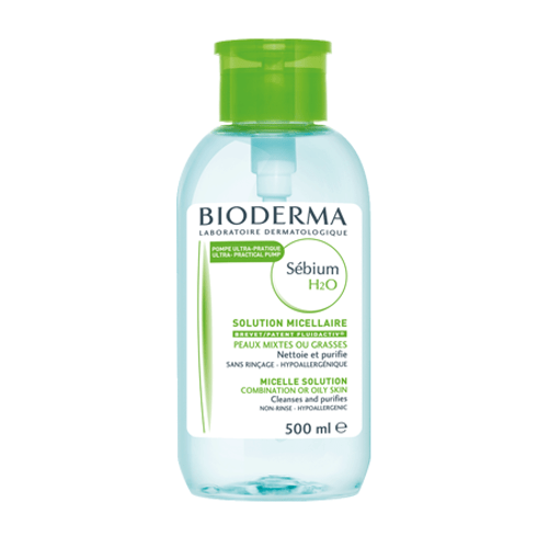 Bioderma Sébium H20 Purifying Micelle Solution Reverse Pump by Bioderma