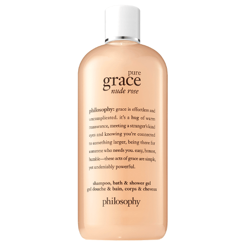 philosophy pure grace nude rose shampoo, bath and shower gel by philosophy