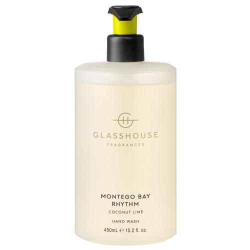 Glasshouse MONTEGO BAY RHYTHM Hand Wash 450ml by Glasshouse Fragrances