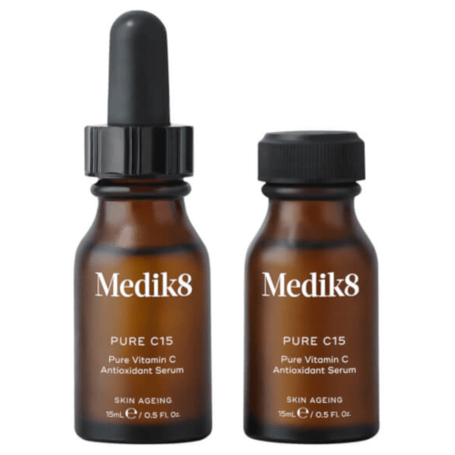 Medik8 Pure C15 Vitamin C Antioxidant Serum 2 x 15ml by Medik8