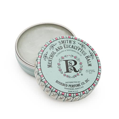 Smith's Rosebud Salve - Menthol Eucalyptus Lip Balm - Tin by Smith's Rosebud Salve