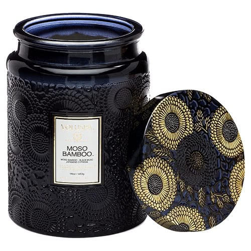 Voluspa Moso Bamboo Jar Candle by Voluspa